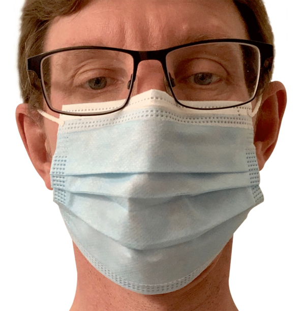 Disposable face mask for daily use