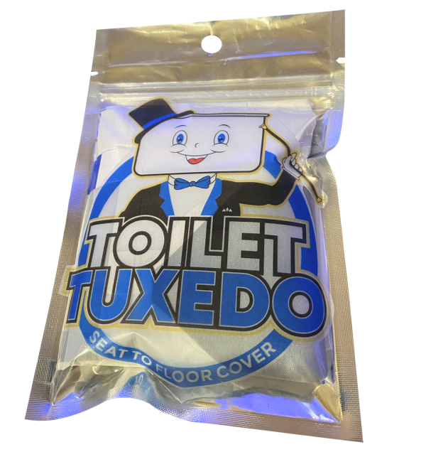 Toilet Tuxedo - Seat to Floor Cover kit
